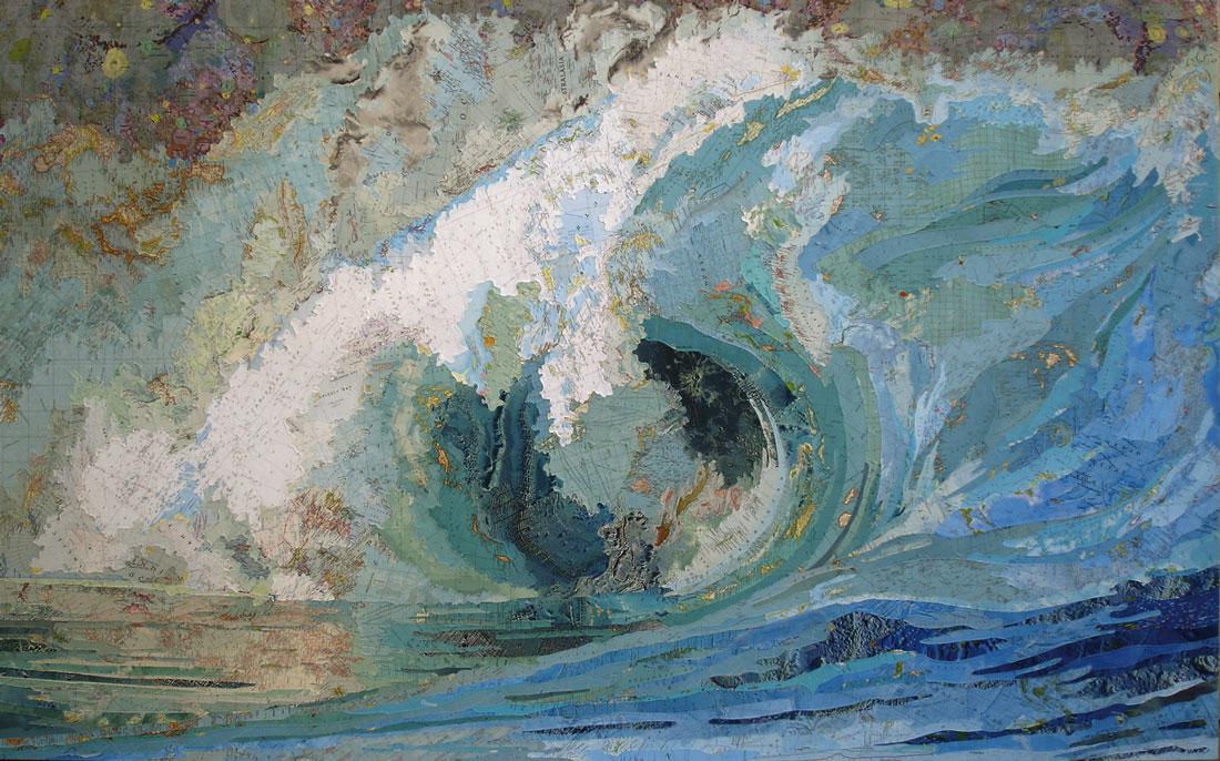Matthew Cusick Fiona's Wave 2005
