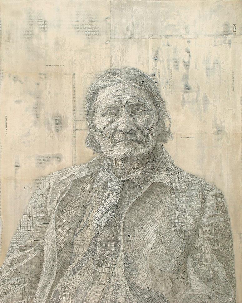 Matthew Cusick Geronimo 2007